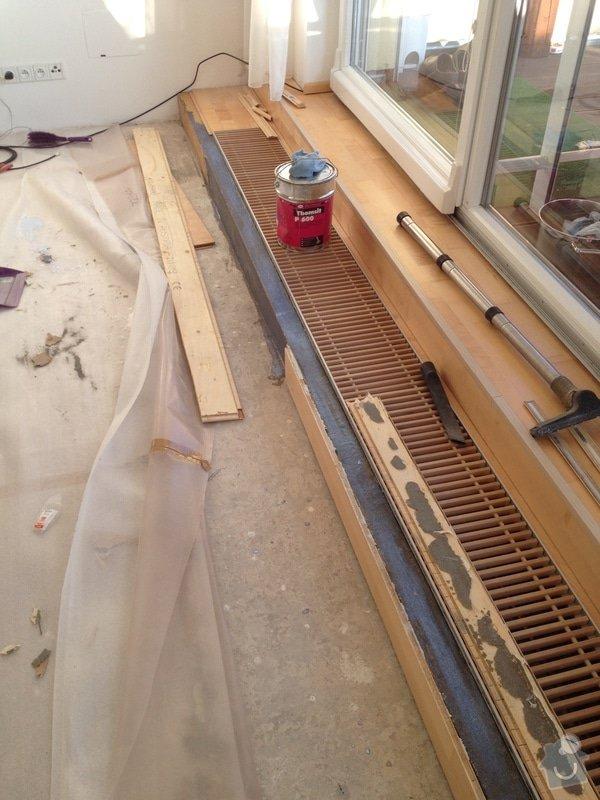 Oprava dřevěné plovoucí podlahy: 110