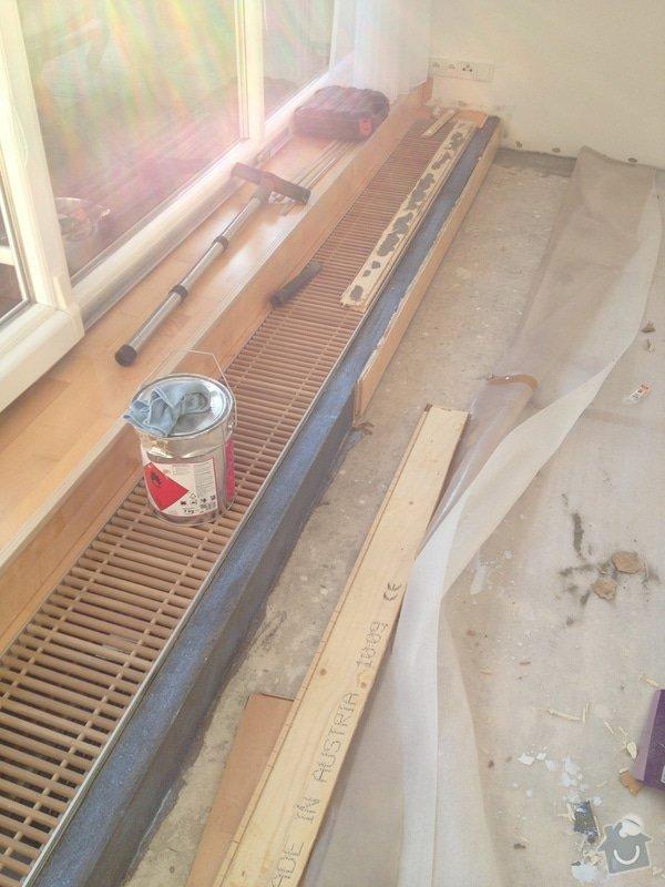 Oprava dřevěné plovoucí podlahy: 111