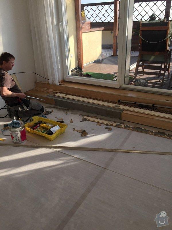 Oprava dřevěné plovoucí podlahy: 112