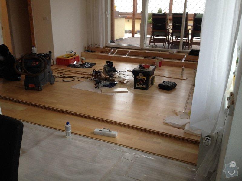 Oprava dřevěné plovoucí podlahy: 113
