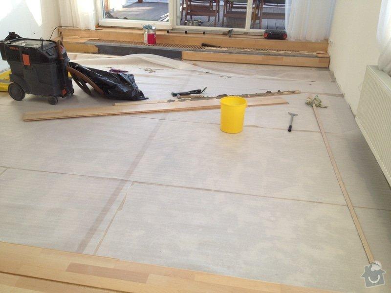 Oprava dřevěné plovoucí podlahy: 114