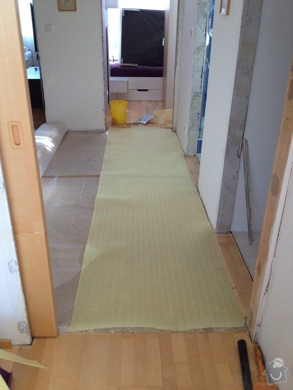 Oprava dřevěné plovoucí podlahy: 115