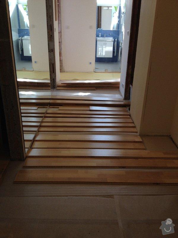 Oprava dřevěné plovoucí podlahy: 117