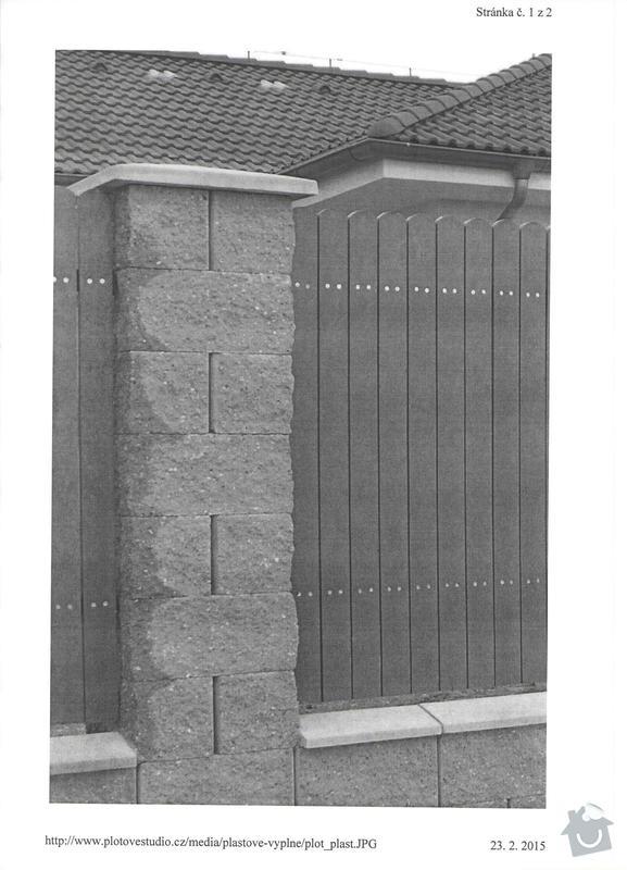 Stavba plotu: 001