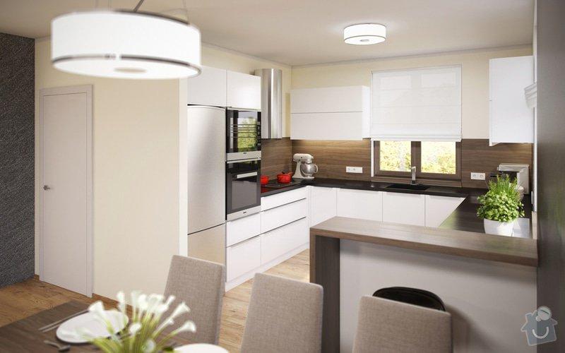 Návrh obývacího pokoje s jídelnou a kuchyní.: 23