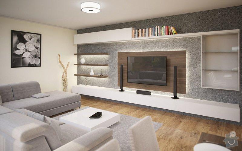 Návrh obývacího pokoje s jídelnou a kuchyní.: 24
