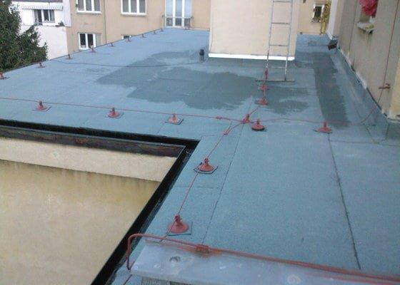 Hydroizolace střechy a terasy
