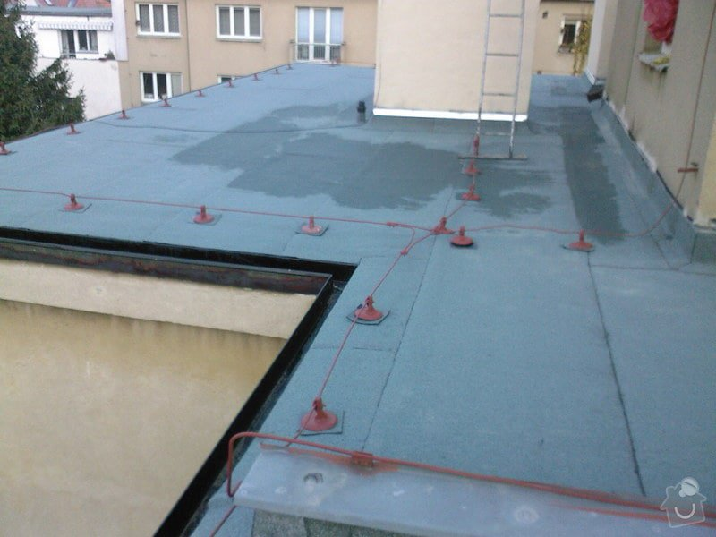 Hydroizolace střechy a terasy: SPM_A0808