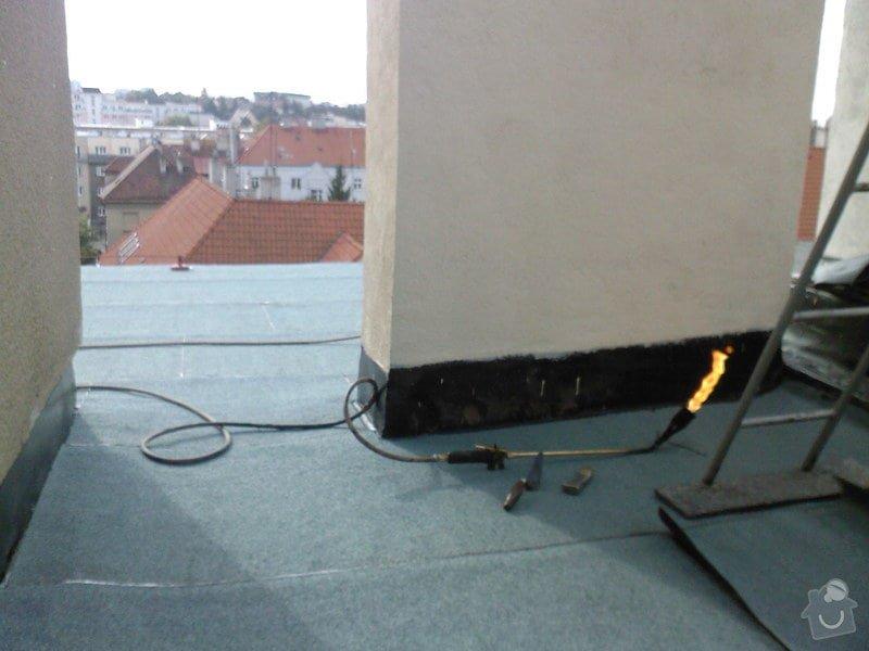 Hydroizolace střechy a terasy: SPM_A0796