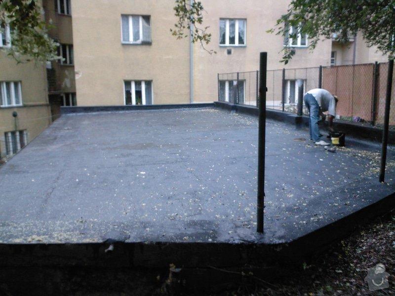 Hydroizolace střechy a terasy: SPM_A0722