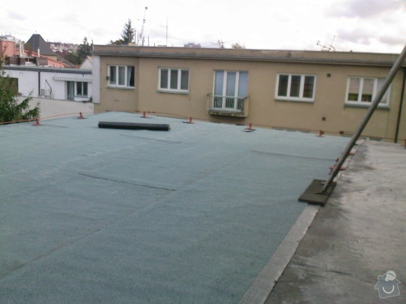 Hydroizolace střechy a terasy: SPM_A0795