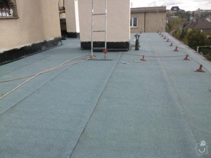 Hydroizolace střechy a terasy: SPM_A0797