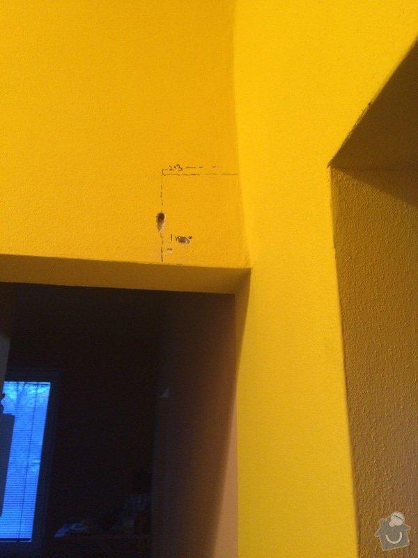 Zednická práce, vyřezání části zdi: IMG_0705