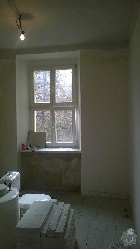 Částečná rekonstrukce bytu 2+kk: WP_20150224_008