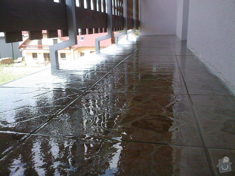 Hydroizolace balkonu: Nedbal