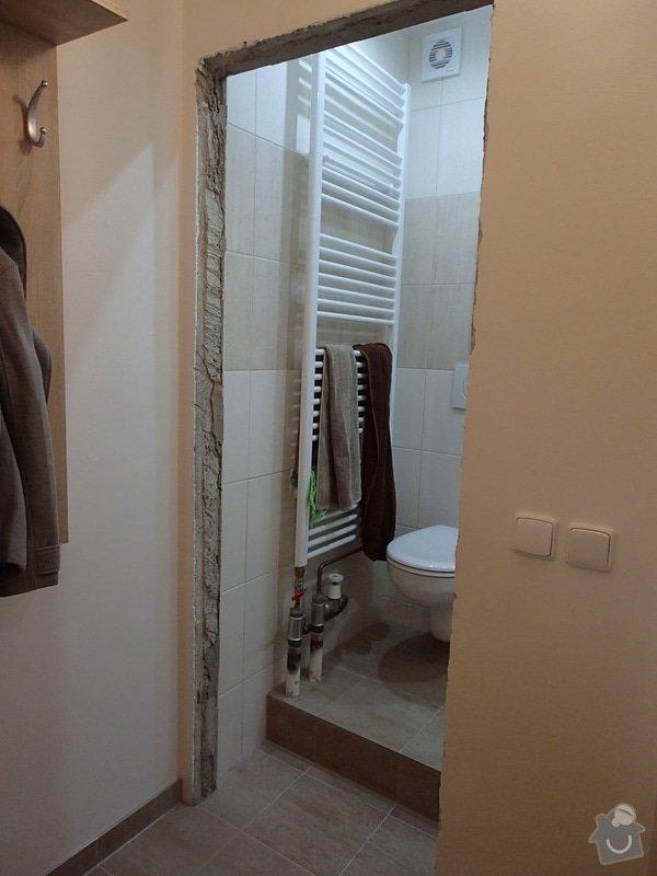 Dveře včetně zárubní: Koupelna1