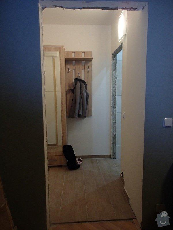 Dveře včetně zárubní: Pokoj1