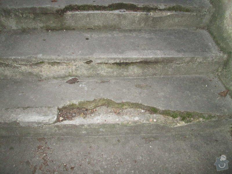 Oprava betonových schodů: IMG_0074