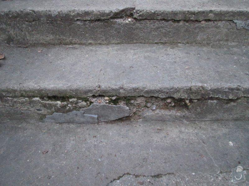 Oprava betonových schodů: IMG_0077