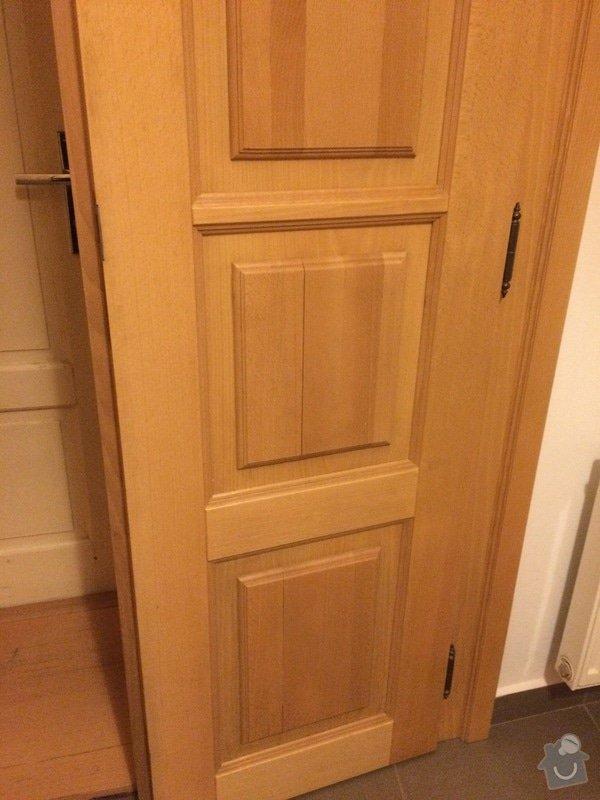 Truhlářské práce - oprava dveří: IMG_4947