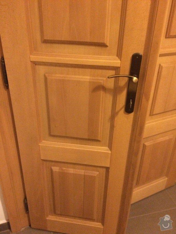 Truhlářské práce - oprava dveří: IMG_4949