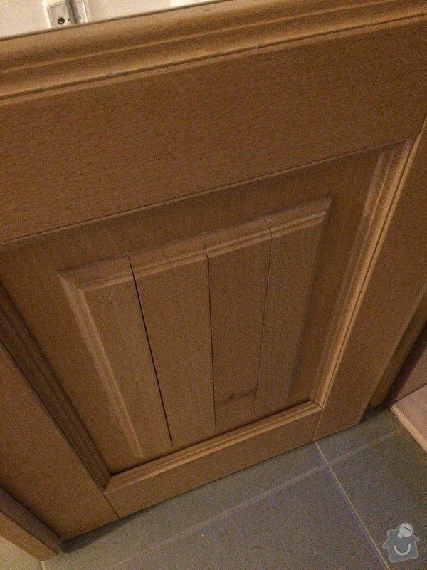 Truhlářské práce - oprava dveří: IMG_4953