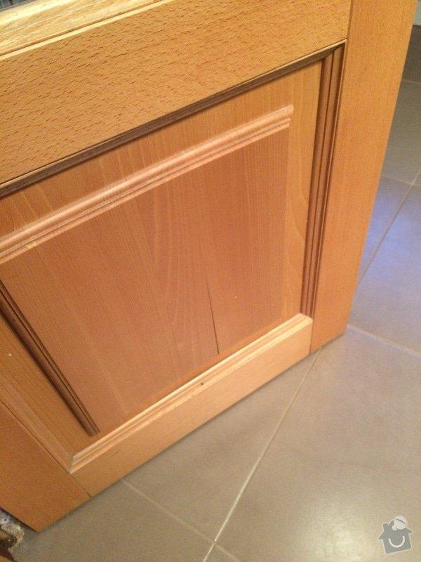 Truhlářské práce - oprava dveří: IMG_4956