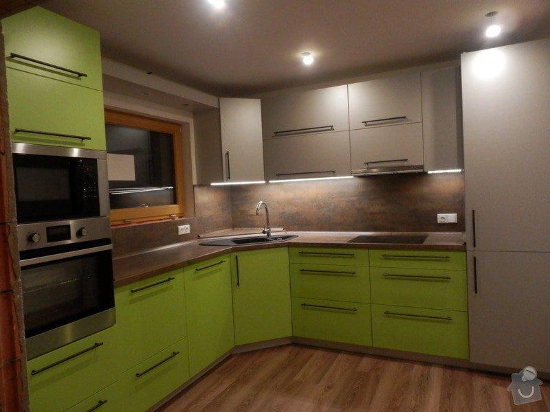 Návrh, výroba a montáž kuchyňské linky: PC162132