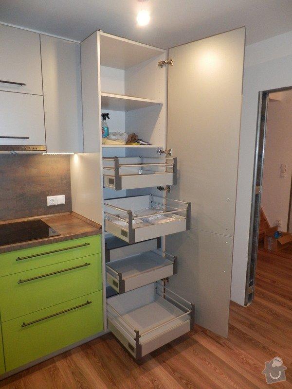 Návrh, výroba a montáž kuchyňské linky: PC162146
