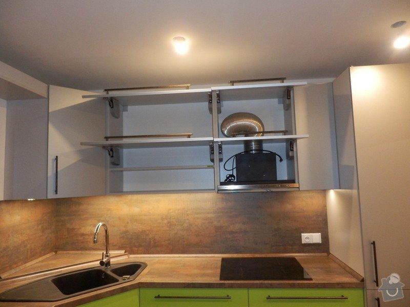 Návrh, výroba a montáž kuchyňské linky: PC162148