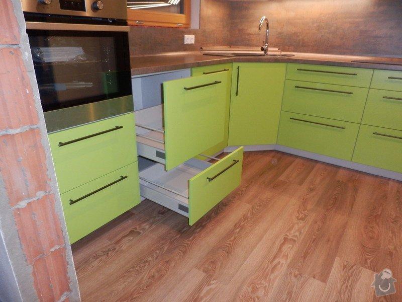 Návrh, výroba a montáž kuchyňské linky: PC162152
