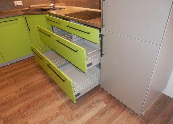 Návrh, výroba a montáž kuchyňské linky