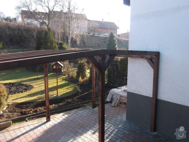 Rekonstrukce dřevěné pergoly: 003
