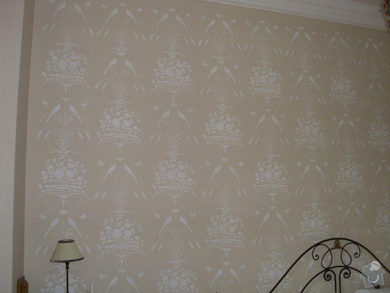 Rekonstrukce dekorativní malby v Hotelu Chateau Mcely *****: Rekonstrukce_dekorativni_malby_v_Chateau_Mcely_-_vysledek_malby_2_