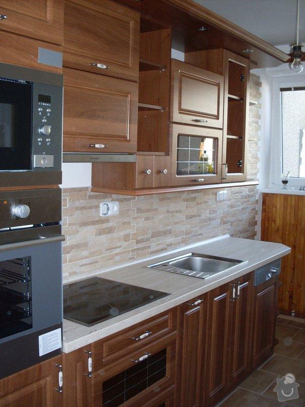 Výroba a montáž kuchyňské linky: SDC10136