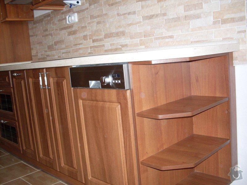 Výroba a montáž kuchyňské linky: SDC10135