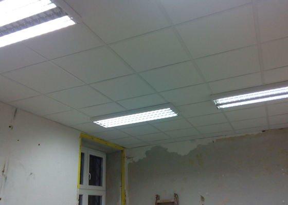 Stropní podhledy 50 m2