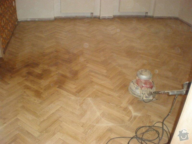 Renovace dřevěných parket - 58 m2: 308