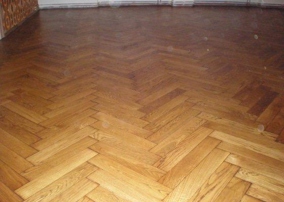 Renovace dřevěných parket - 58 m2