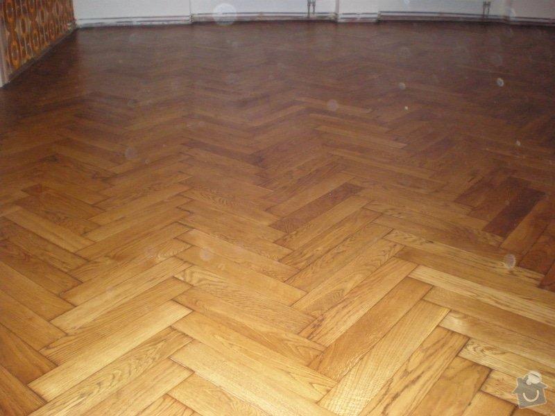 Renovace dřevěných parket - 58 m2: 309