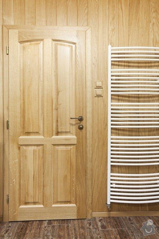 Výroba koupelnového nábytku z dubového masivu: dvere10