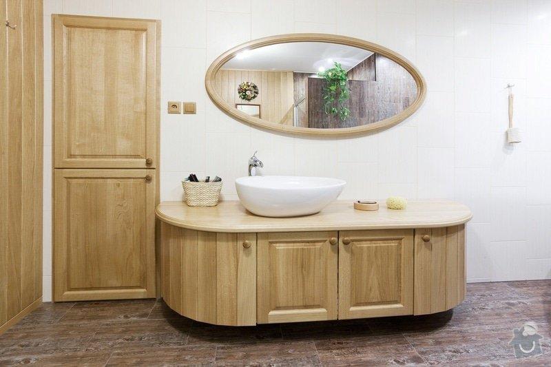 Výroba koupelnového nábytku z dubového masivu: koupelna4