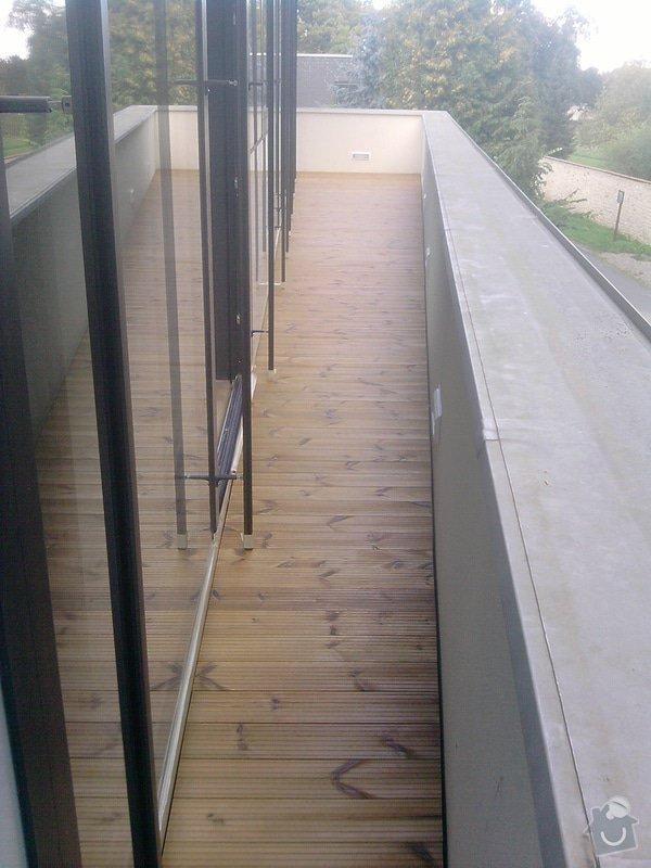 Montáž dřevěné terasy: P140913_15.00