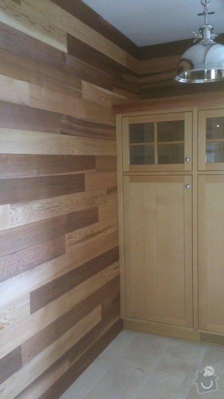 Dřevěné obložení, obložkové dveře, kuchyně, krbové obložení: DSC_0081