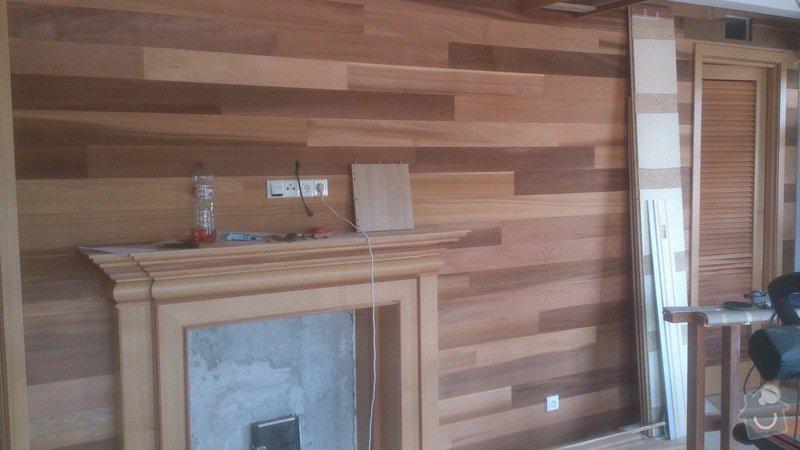 Dřevěné obložení, obložkové dveře, kuchyně, krbové obložení: DSC_0038
