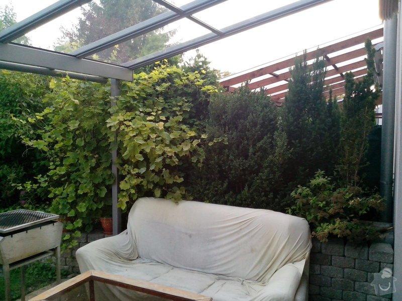 Výstavba 2 zdí oddělující zahrady řadových rodinných domů: IMG_20140718_201550