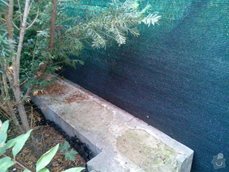Výstavba 2 zdí oddělující zahrady řadových rodinných domů: IMG_20140718_201720