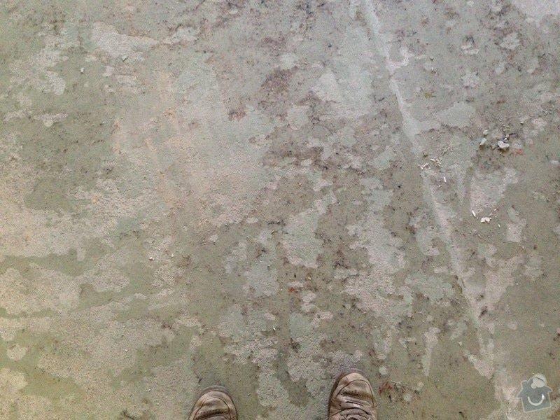 Dřevěná podlaha 70m2 - materiál + pokládka + nivelace: 2015-02-20_17.15.08