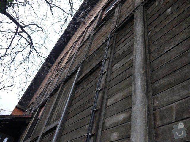 Oprava a zateplení dřevěné fasády: P1080141