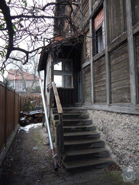 Oprava a zateplení dřevěné fasády: P1080135
